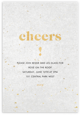 Vellum View - Paperless Post - Summer Party Invitations