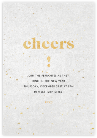 Vellum View - Paperless Post - New Year's Eve Invitations