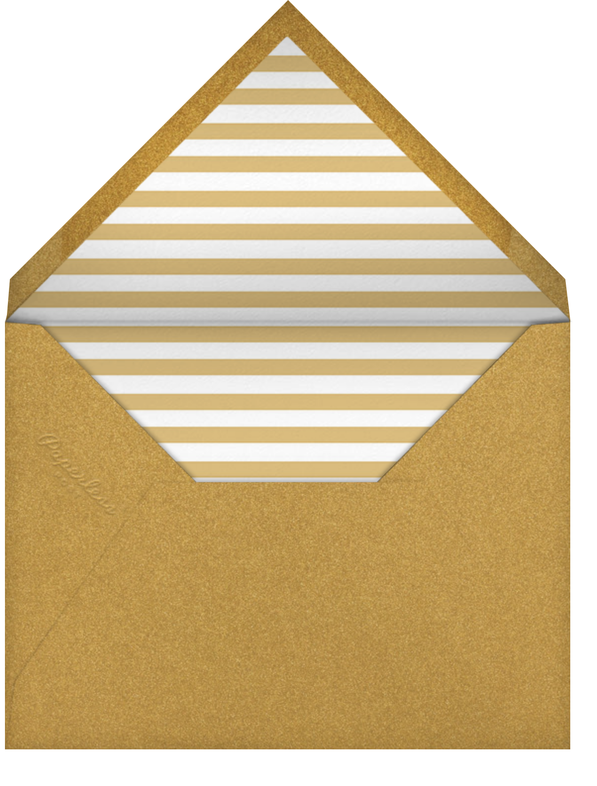 Smash Cut - Paperless Post - Engagement party - envelope back