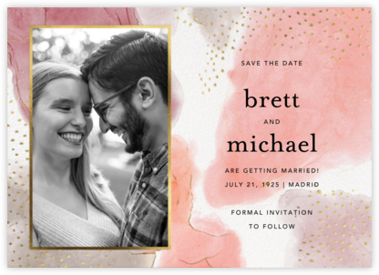 Ethereal Wash Photo - Ashley G - Photo save the dates
