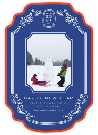 Ornate Frame (2021) - Blue - Cheree Berry - Cheree Berry Online