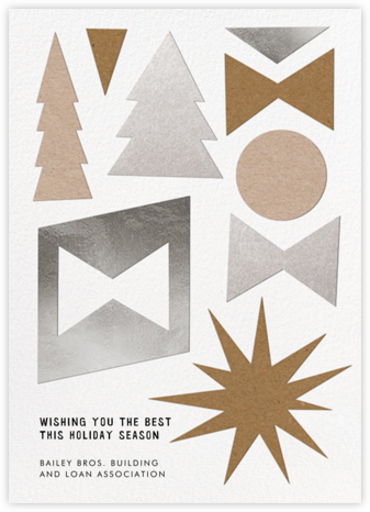 Simple Gifts - Paperless Post - Company holiday cards