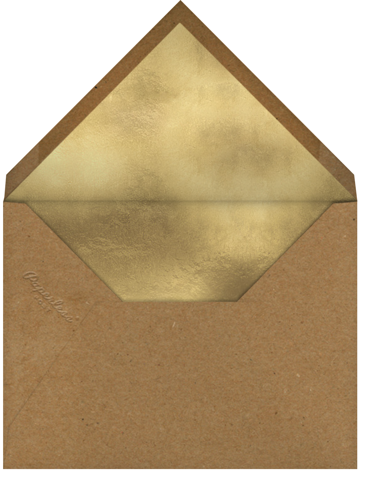 Bunch of Nuts - Paperless Post - Holiday cards - envelope back