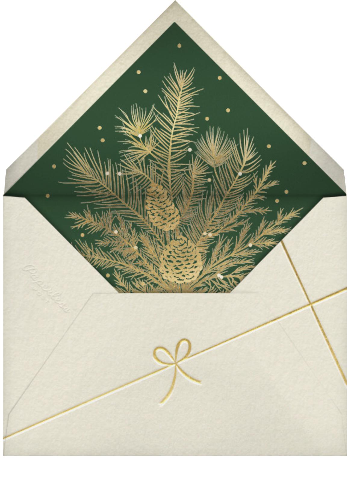 Holiday Favorites - Paperless Post - Envelope