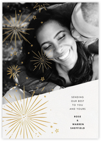 Holiday Starbursts - Paperless Post - Holiday Cards
