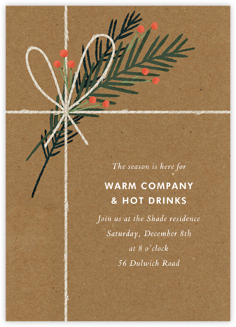 Holiday Favorites - Paperless Post - Christmas invitations