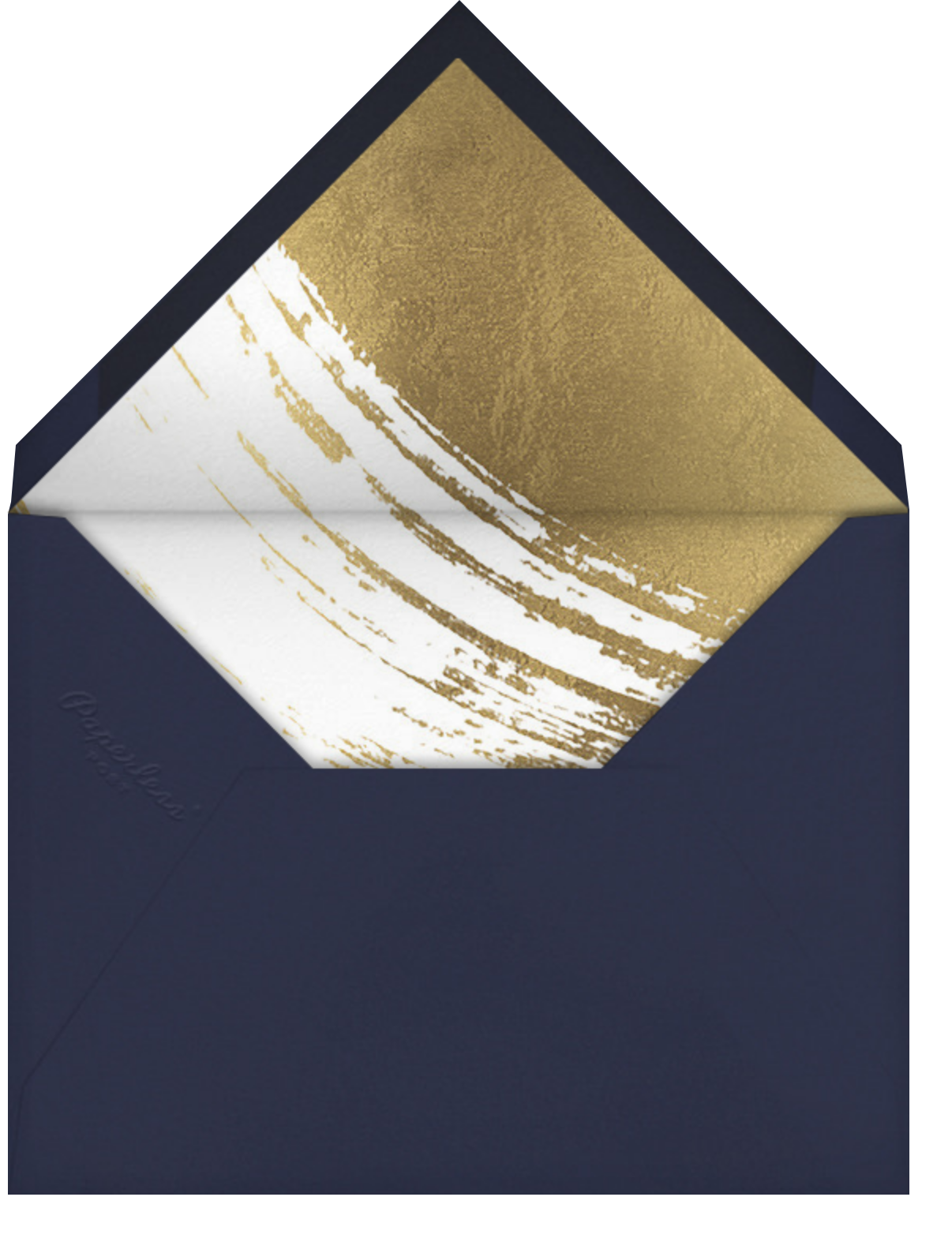 Bluets - Paperless Post - Holiday cards - envelope back