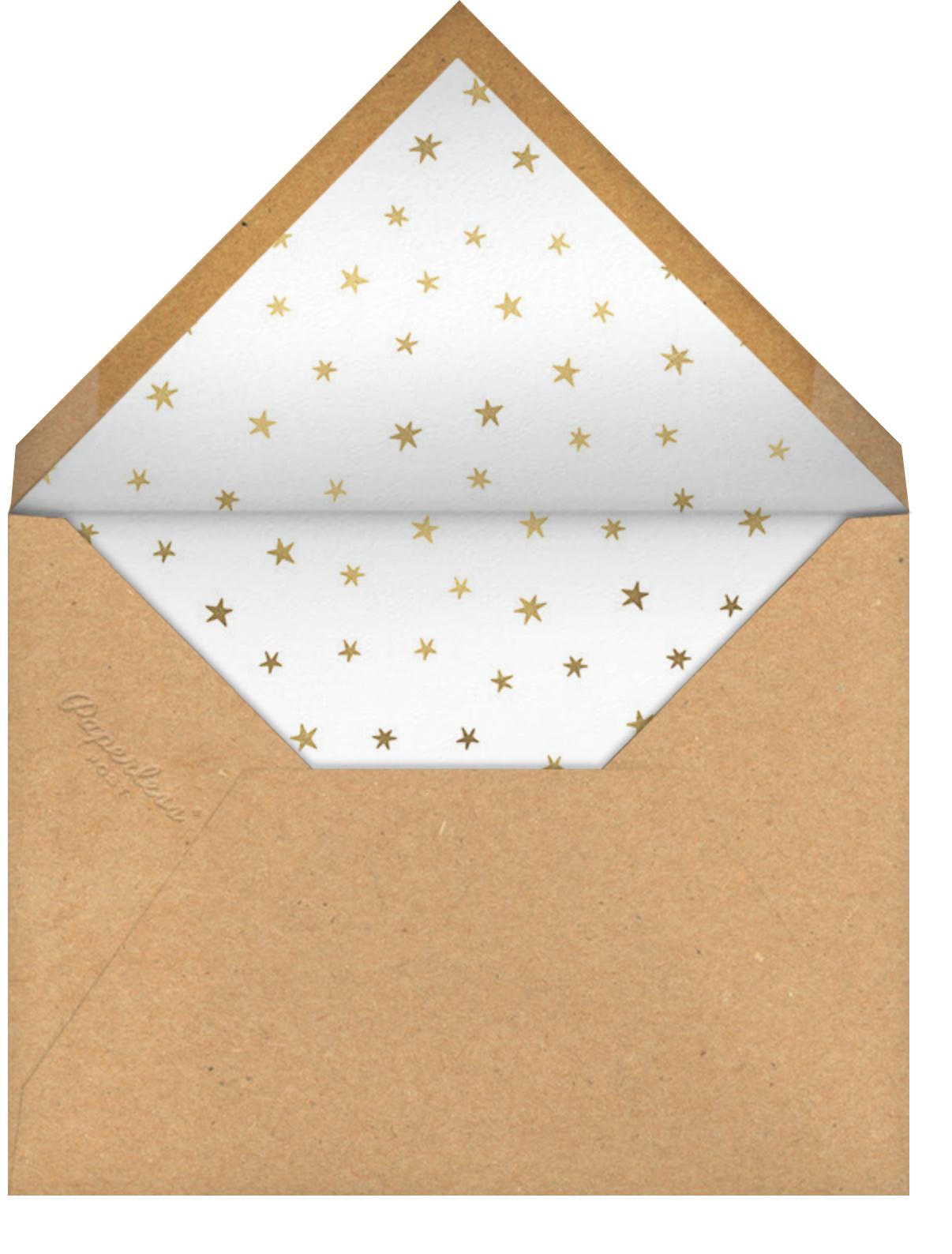 Holiday Starbursts - Paperless Post - Envelope