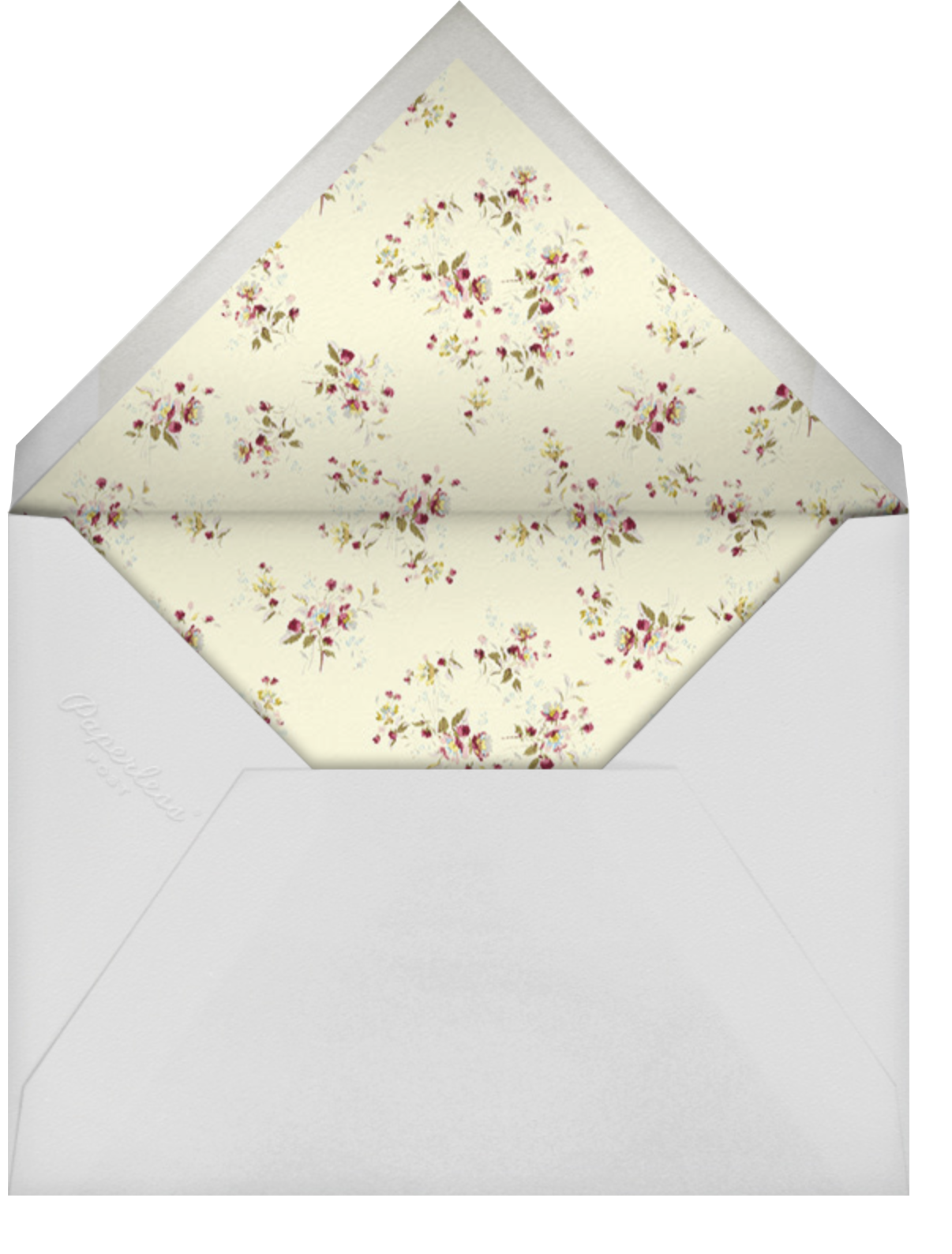 Carmen (Invitation) - Brock Collection - Envelope
