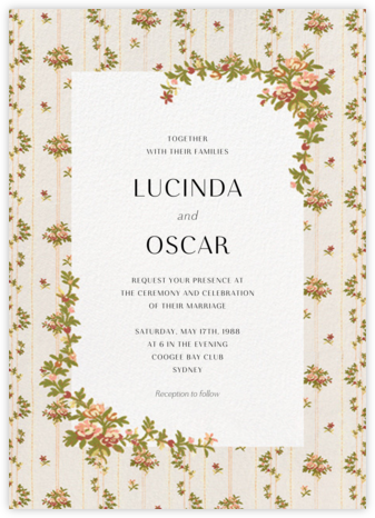 Charlotte (Invitation) - Brock Collection - Wedding Invitations