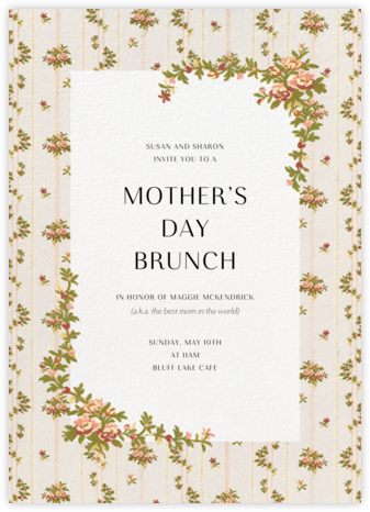 Charlotte (Tall) - Brock Collection - Online Mother's Day invitations