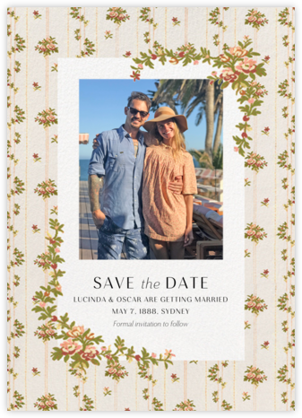 Charlotte Photo Save the Date - Brock Collection - Save the date cards and templates