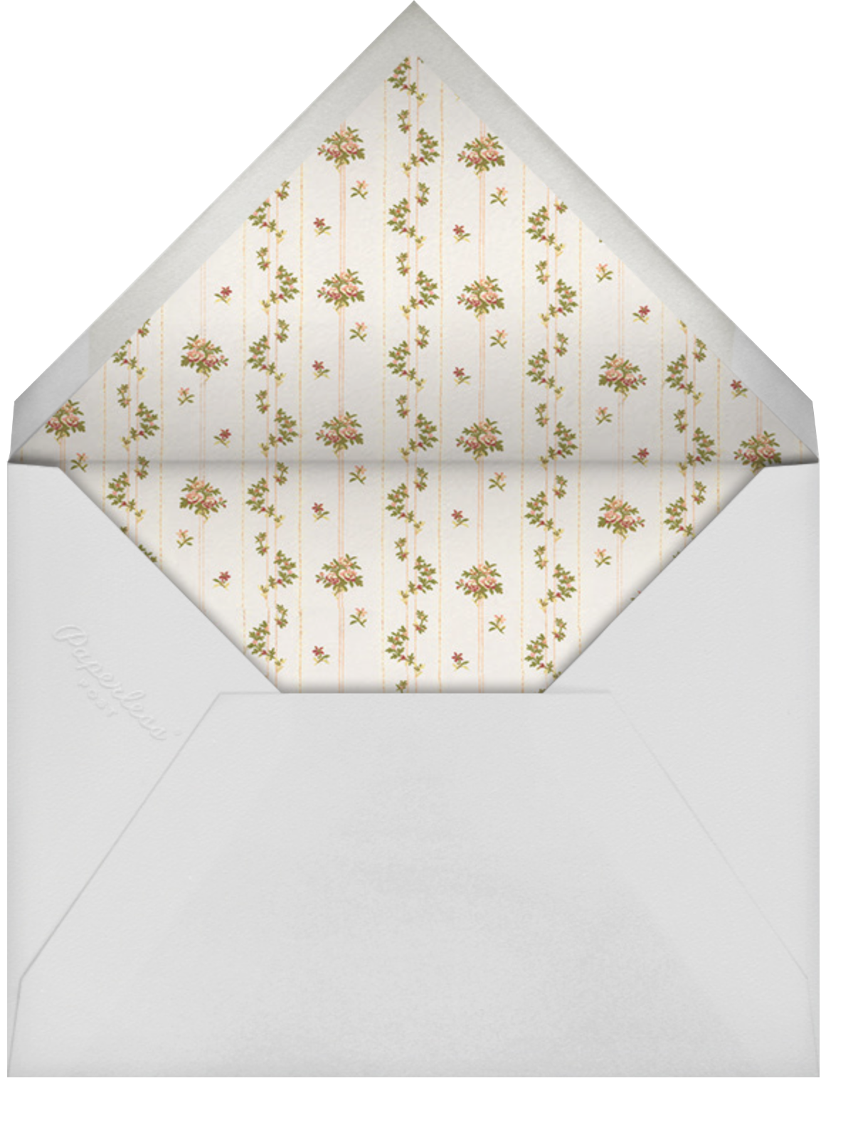 Gilda - Brock Collection - Baby shower - envelope back