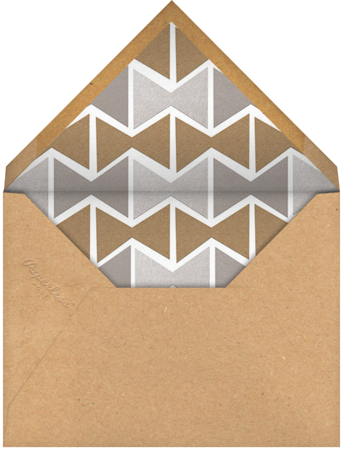 Simple Gifts - Paperless Post - Holiday cards - envelope back