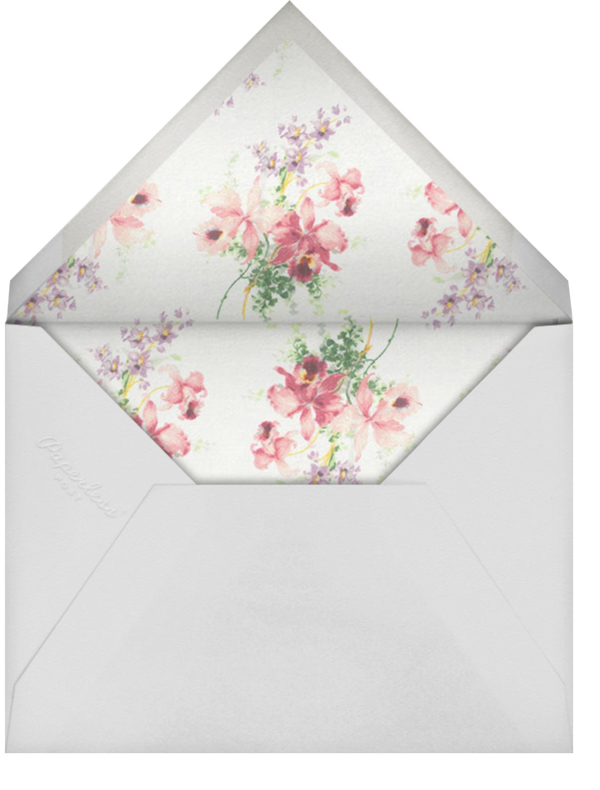 Kundry - Brock Collection - Bridal shower - envelope back
