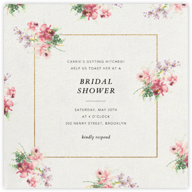 Kundry - Brock Collection - Bridal shower invitations