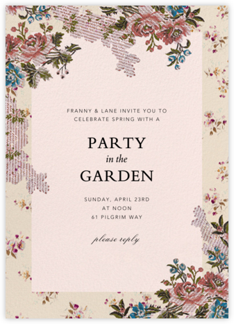 Manon - Brock Collection - Spring Party Invitations