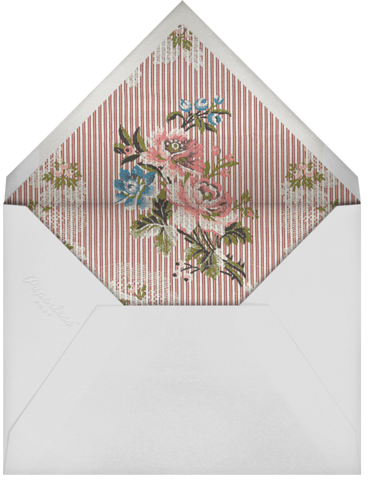 Manon - Brock Collection - Bridal shower - envelope back