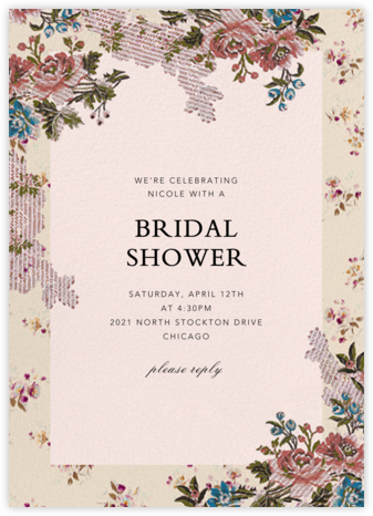 Manon - Brock Collection - Bridal shower invitations