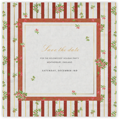 Cybele - Brock Collection - Holiday save the dates