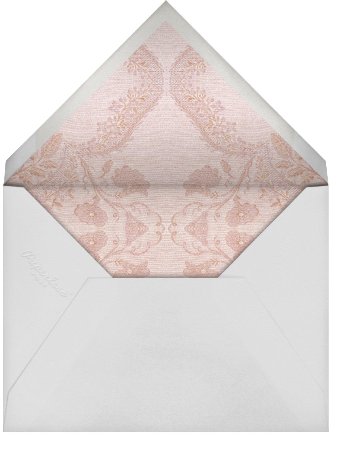 Paloma - Meringue - Brock Collection - General entertaining - envelope back