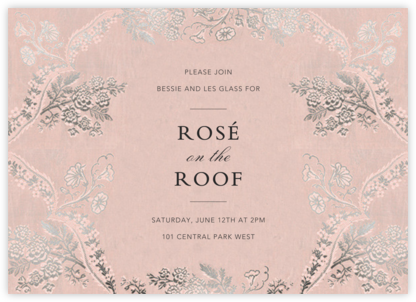 Paloma - Meringue - Brock Collection - Winter entertaining invitations