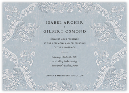 Paloma (Invitation) - Pacific - Brock Collection - Wedding Invitations