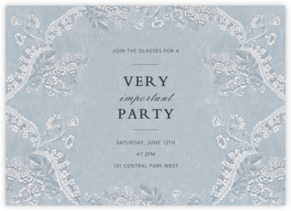 Paloma - Pacific - Brock Collection - Winter Party Invitations