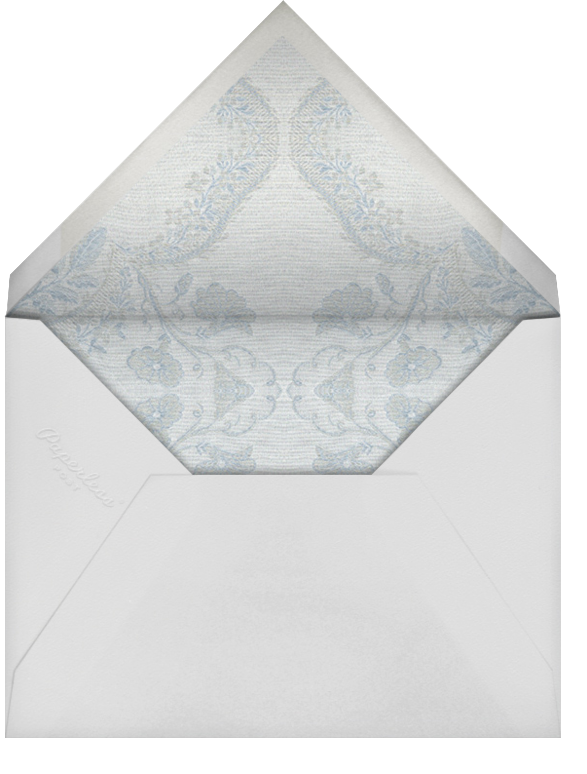 Paloma - Pacific - Brock Collection - Baby shower - envelope back