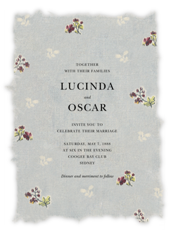 Theda (Invitation) - Brock Collection - Wedding Invitations