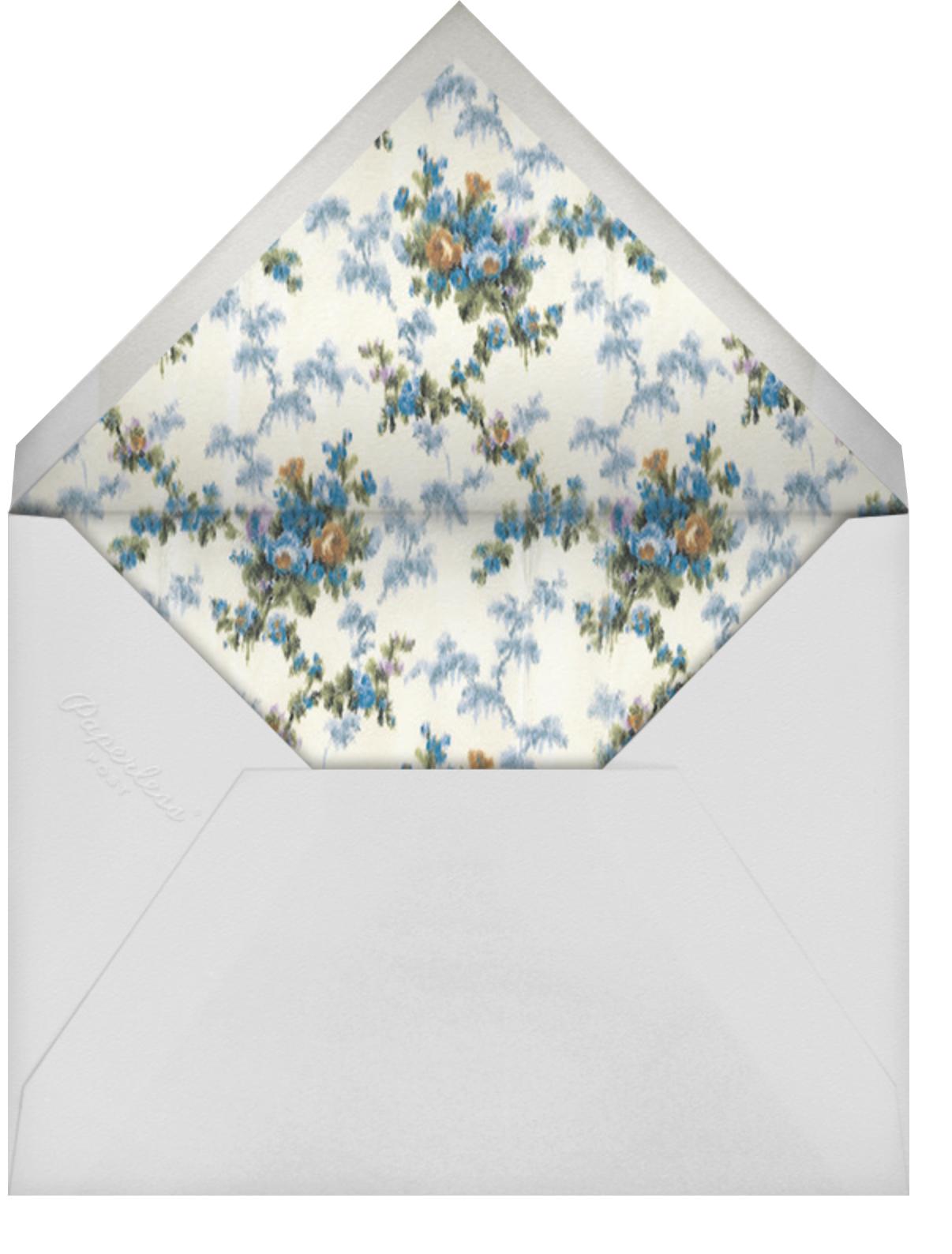 Tosca (Invitation) - Brock Collection - All - envelope back