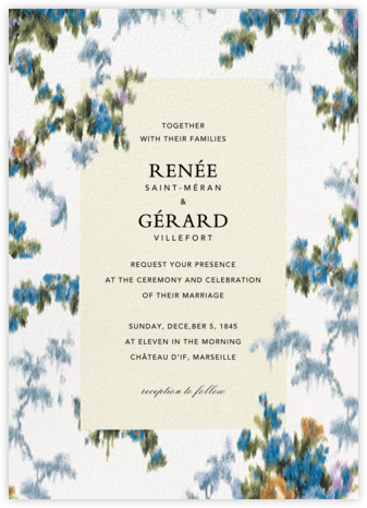 Tosca (Invitation) - Brock Collection - Wedding Invitations