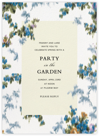 Tosca - Brock Collection - Fall Entertaining Invitations