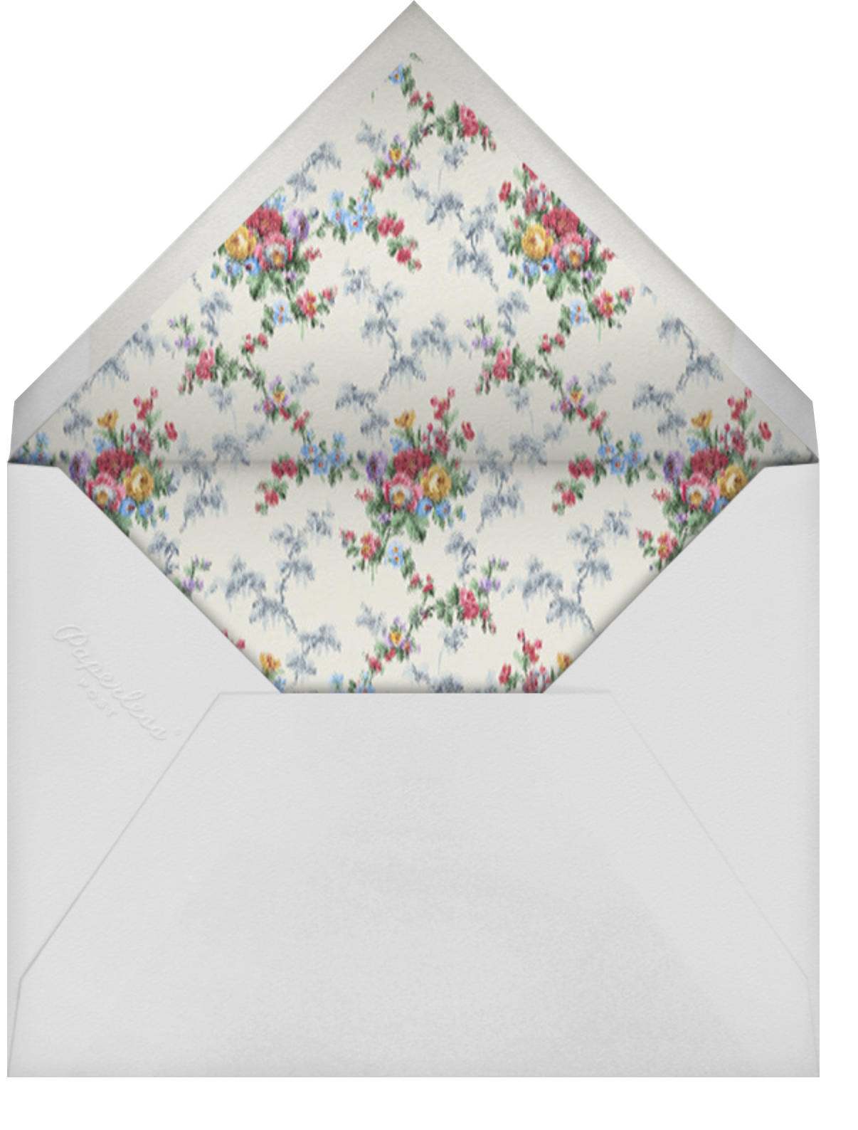 Violetta - Brock Collection - Mother's Day - envelope back