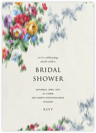 Violetta - Brock Collection - Bridal shower invitations