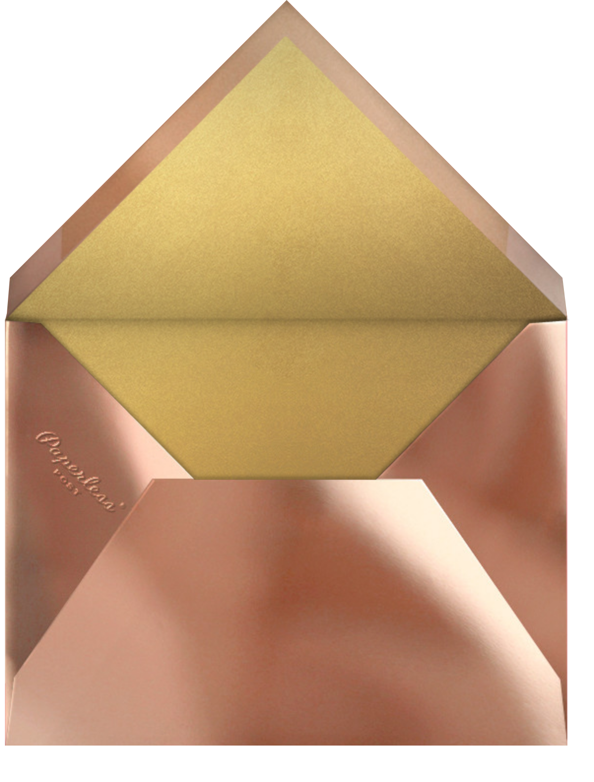 Concentrics - Red - Paperless Post - New Year - envelope back