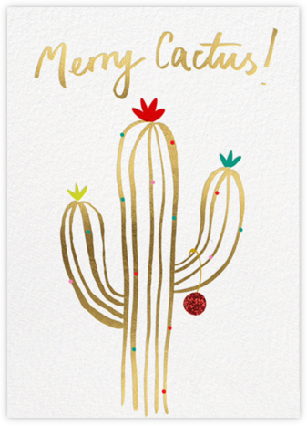 Merry Cactus - Meri Meri - Funny Christmas eCards