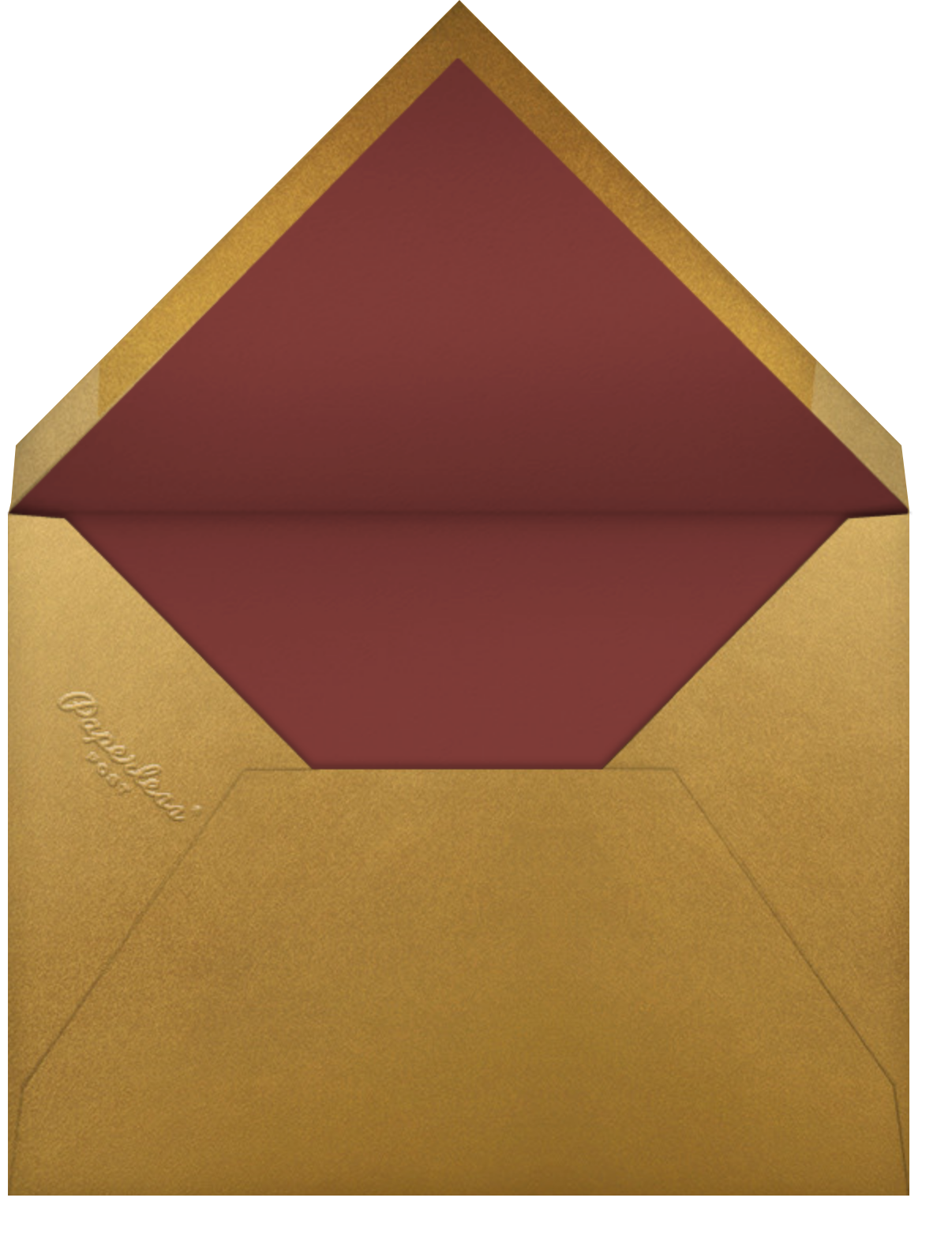Magnolia Roundel - Paperless Post - Thank you - envelope back