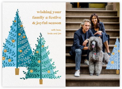 Tannenbaum Twins - Paperless Post - Holiday cards