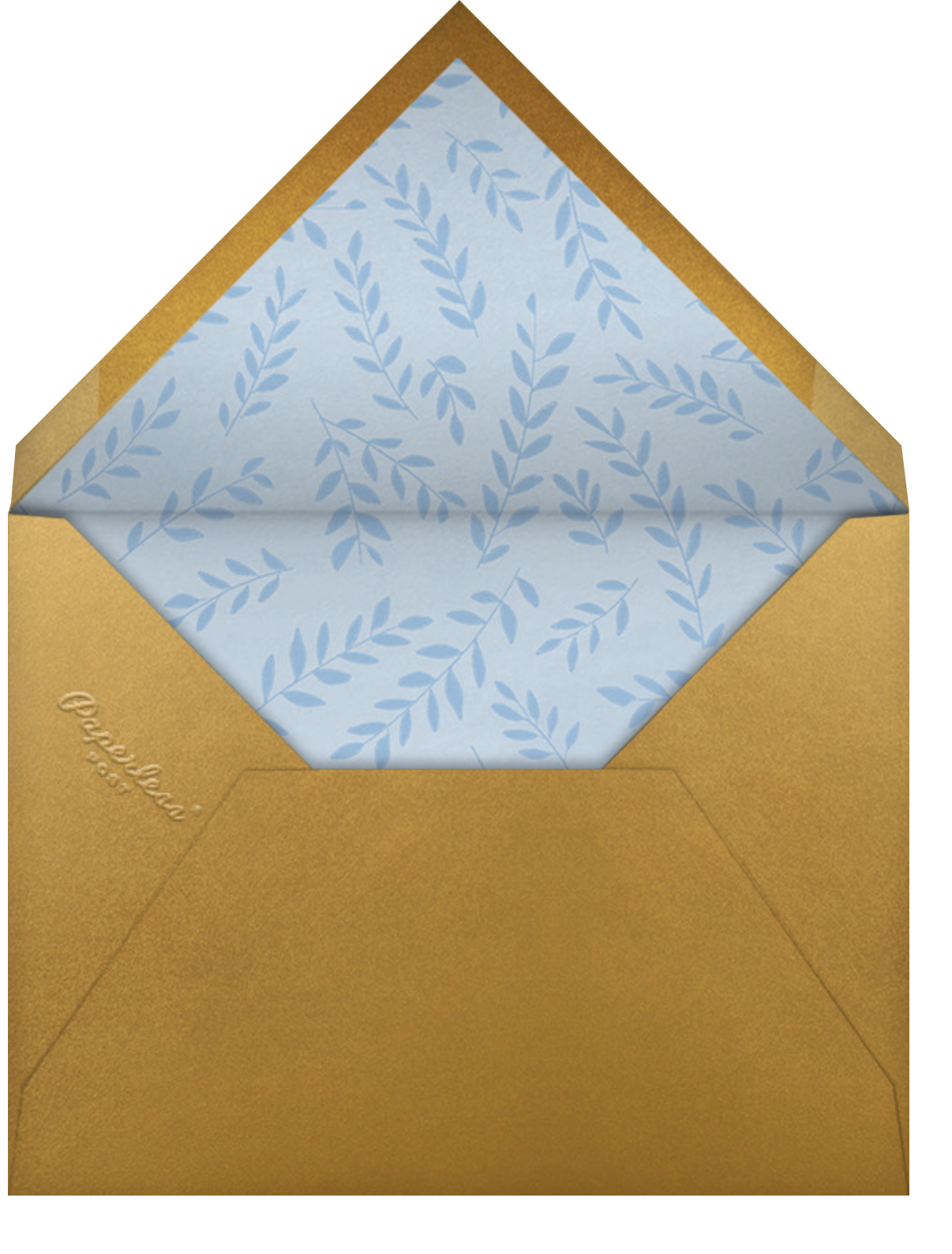 Tannenbaum Twins - Paperless Post - Business holiday cards - envelope back