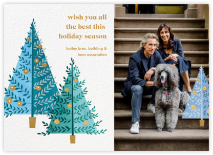 Tannenbaum Twins - Paperless Post - Company holiday cards