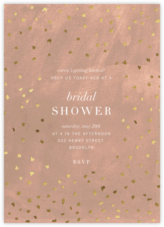 Flurry - Chamois - Kelly Wearstler - Bridal shower invitations