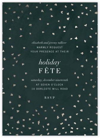 Flurry - Spruce - Kelly Wearstler - Holiday invitations