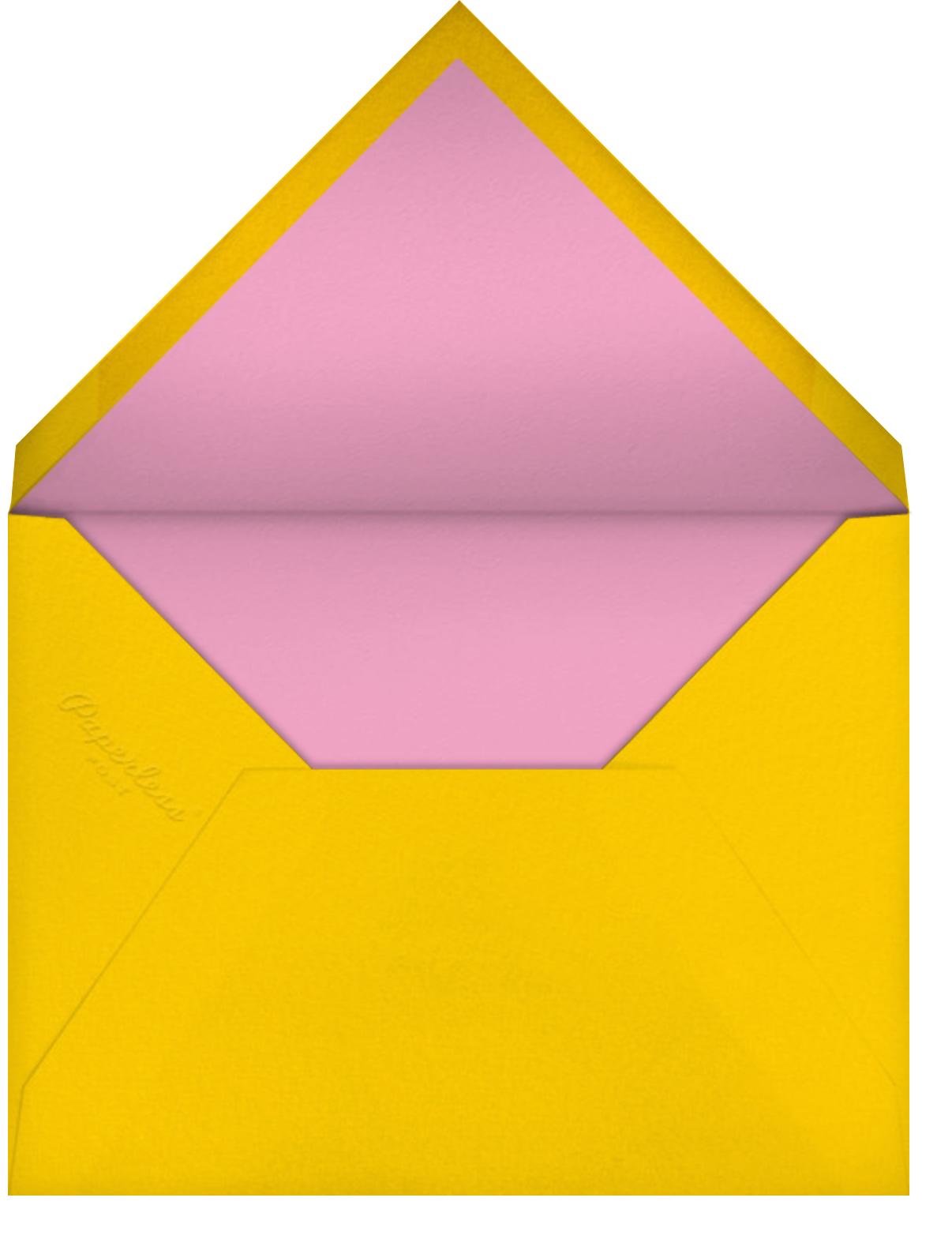 Poodle for Christmas (Bodil Jane) - Red Cap Cards - Christmas - envelope back