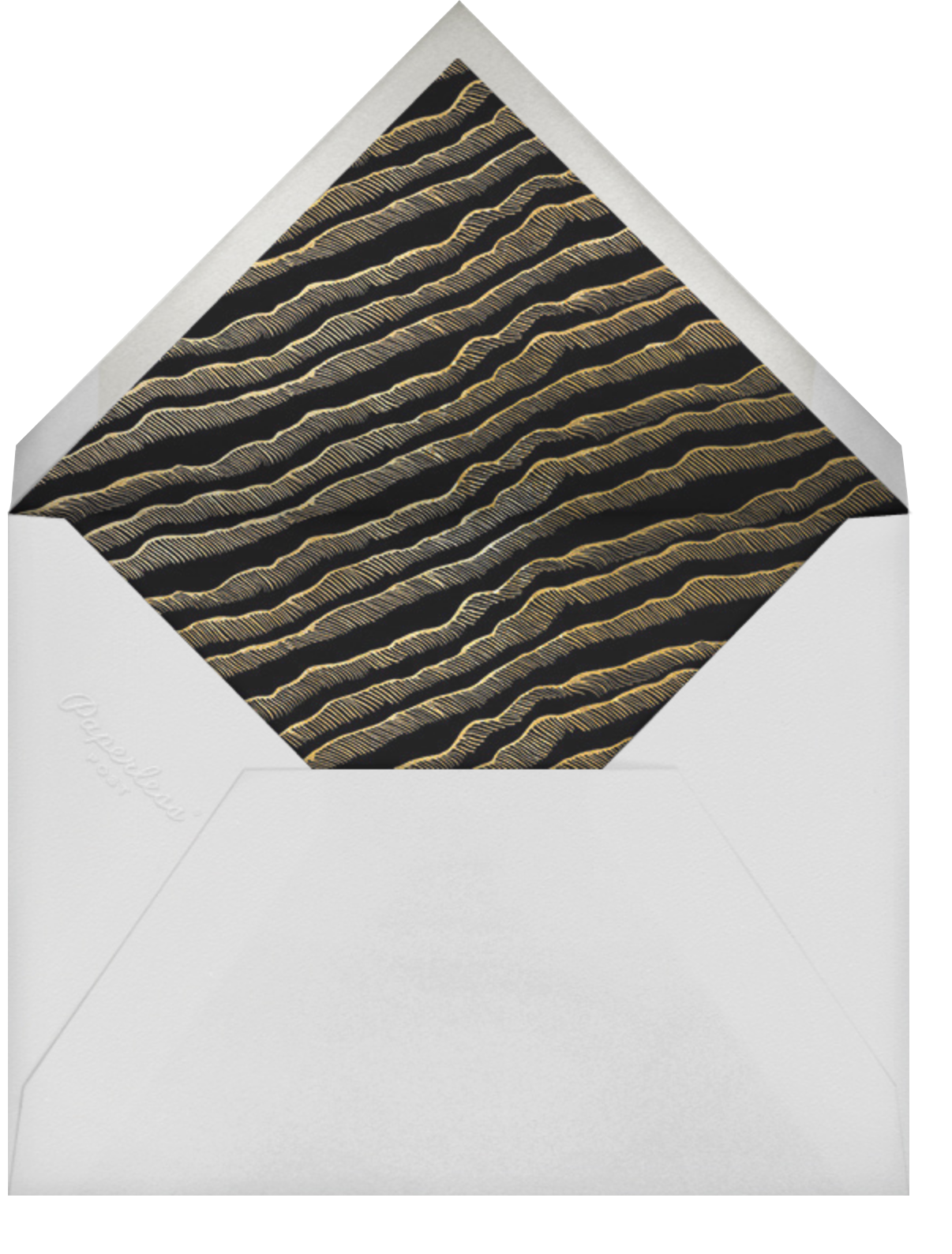 Hearth - Kelly Wearstler - Save the date - envelope back