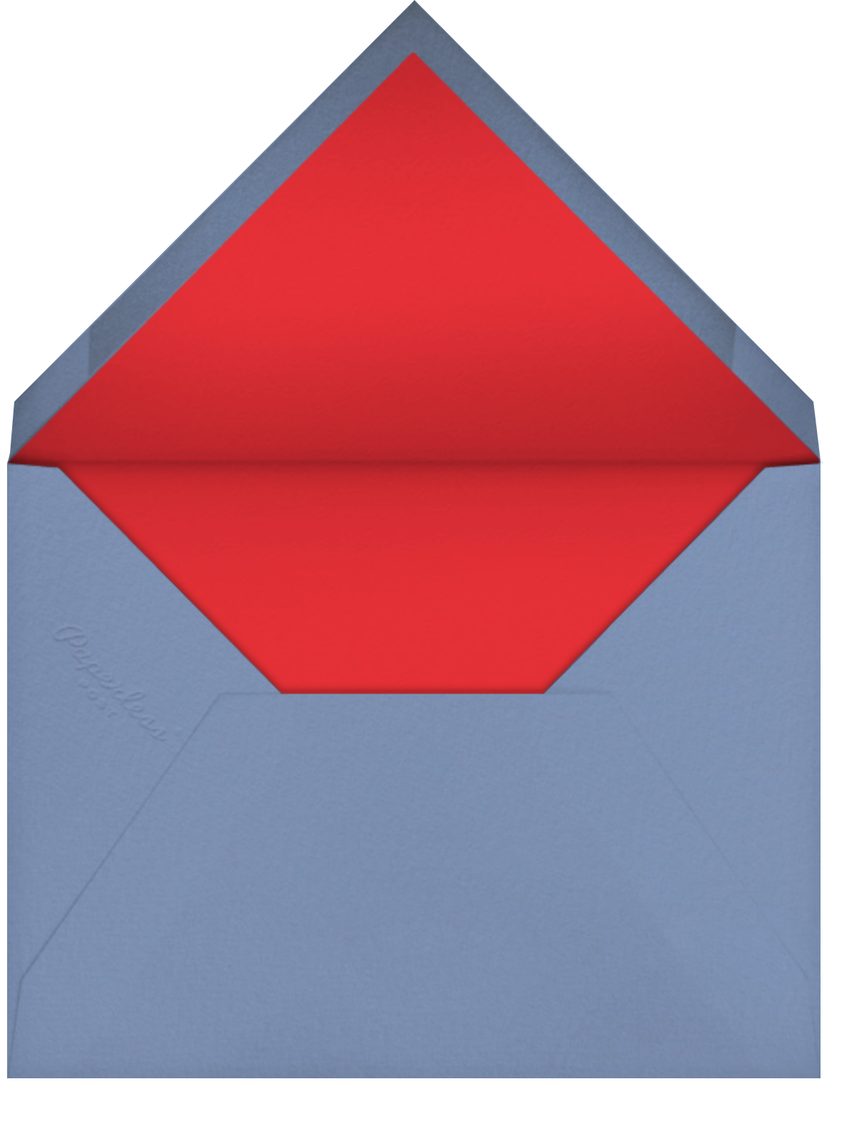 Gnome for the Holidays (Kelsey Garrity Riley) - Red Cap Cards - Christmas - envelope back
