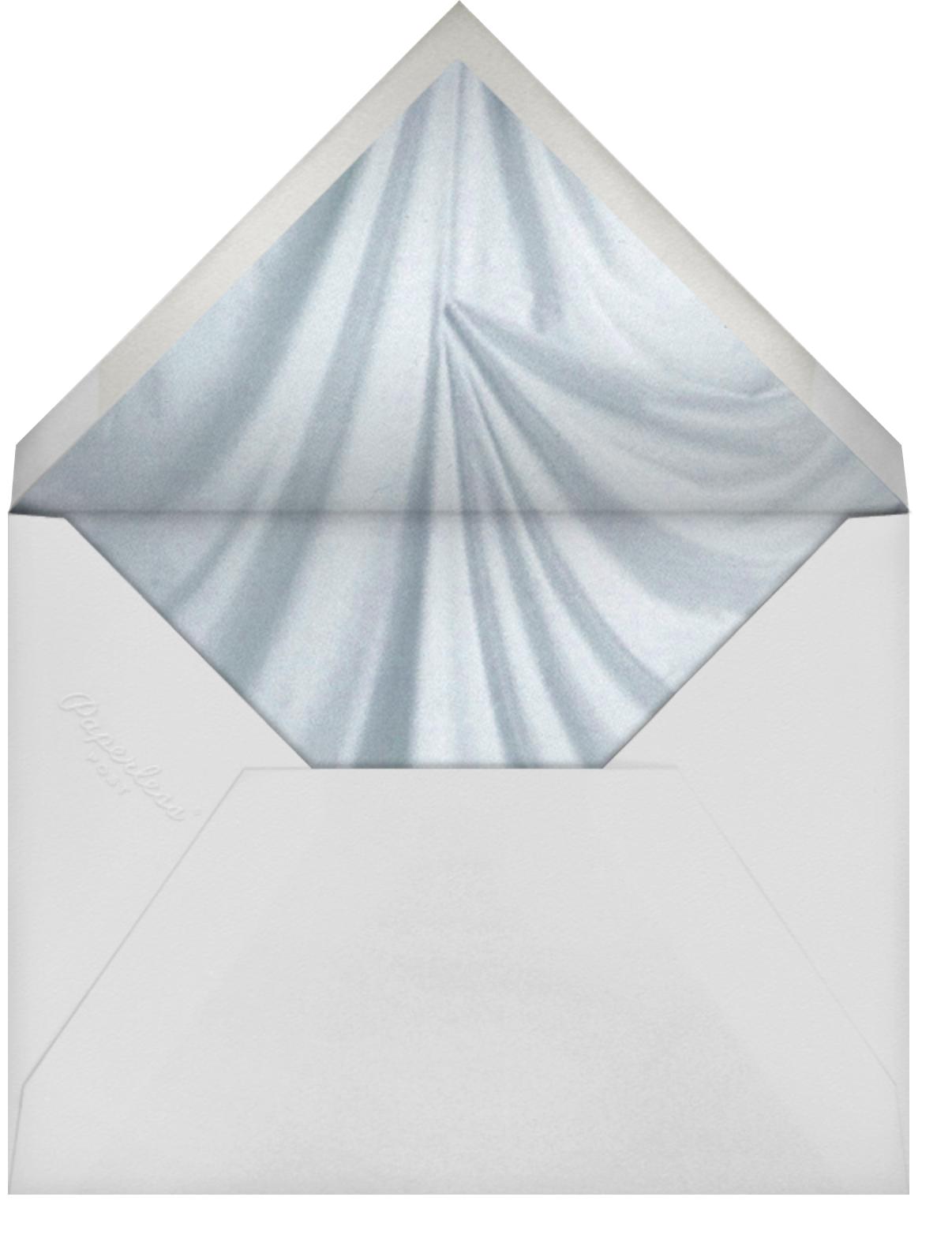Nebula - Kelly Wearstler - Printable invitations - envelope back