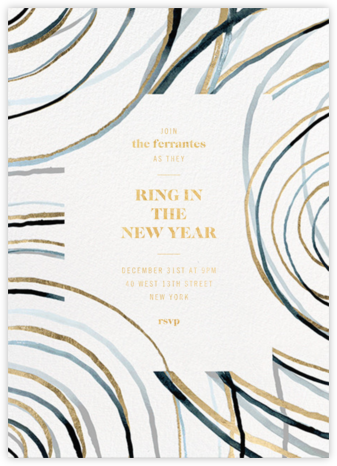 Nebula - Kelly Wearstler - New Year's Eve Invitations