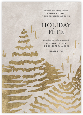 Summit - Kelly Wearstler - Holiday invitations