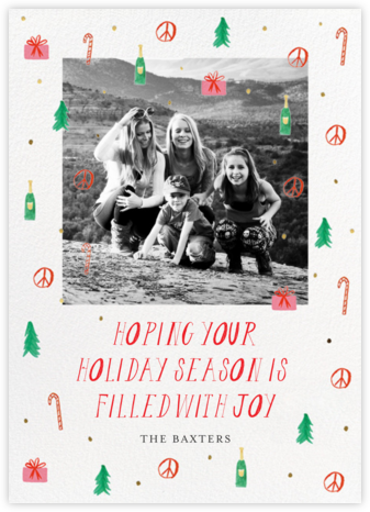 All Good Things - Mr. Boddington's Studio - Holiday cards